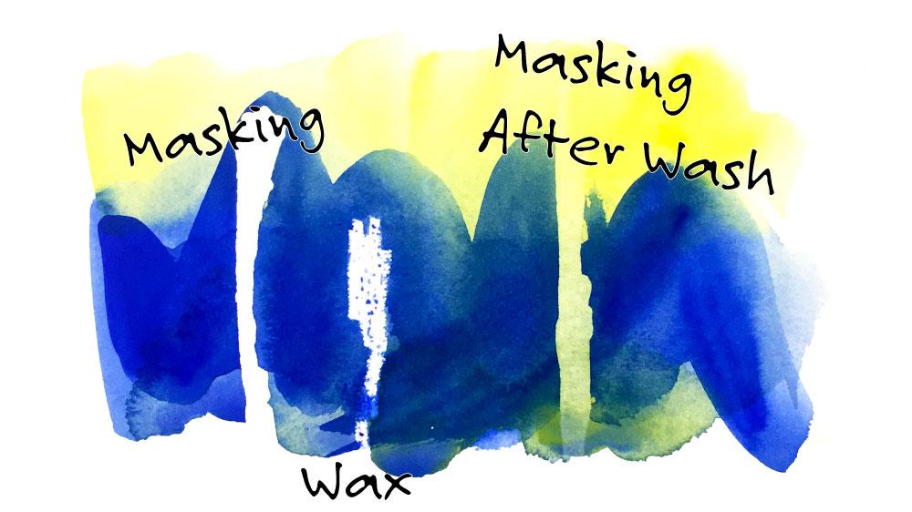 Masking Watercolor Painting Tutorial